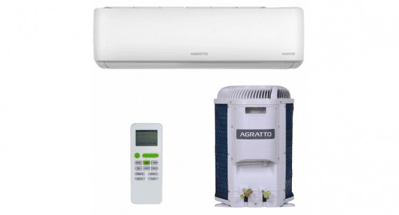Ar Condicionado Split Hi Wall Inverter Agratto Eco Frio