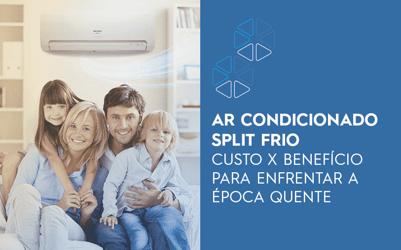 Ar condicionado split frio, custo x beneficio
