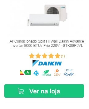 Daikin Advance Inverter 9000 BTUs