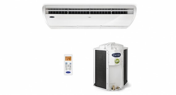 Ar Condicionado Piso Teto Carrier Space 36000 BTUs Frio - 42XQL36C5 Kit