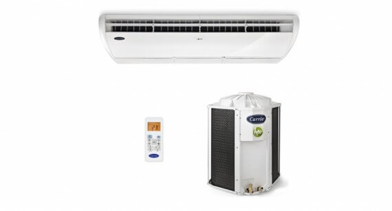 Ar Condicionado Piso Teto Carrier Space 48000 BTUs Frio 220V - 38CCL048535MC 986356