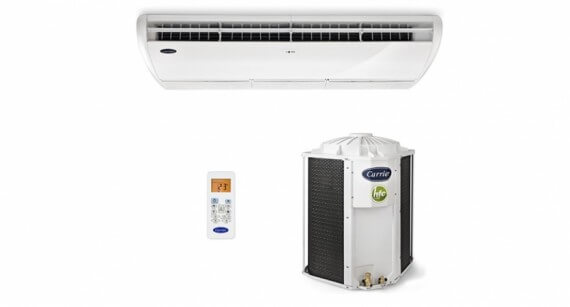 Ar Condicionado Piso Teto Carrier Space 58000 BTUs Frio 220V - 38CCL060535MC 986366