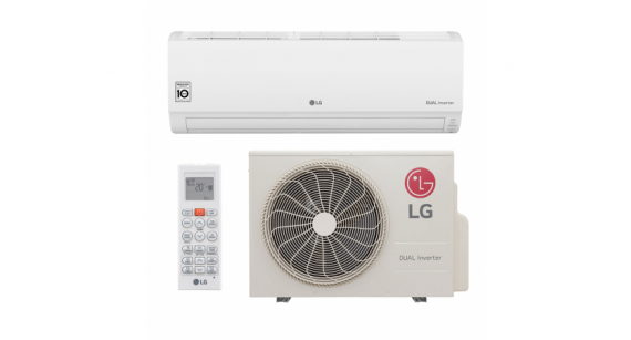 Ar Condicionado Split Hi Wall LG DUAL Inverter Voice Evaporadora Kit