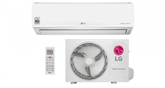 Ar Condicionado Split Hi Wall LG Smart Inverter 9000 BTUs Frio 220V - US-Q092WSG3