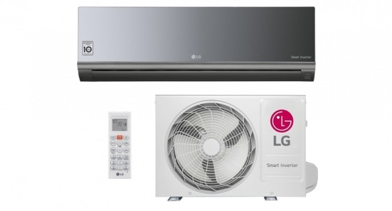 Ar Condicionado Split Hi Wall LG Smart Inverter ArtCool 12000 BTUs Quente Frio 220V - AS-W122BRG2