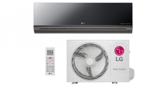 Ar Condicionado Split Hi Wall LG Smart Inverter ArtCool 9000 BTUs Frio 220V - AS-Q092BRG2