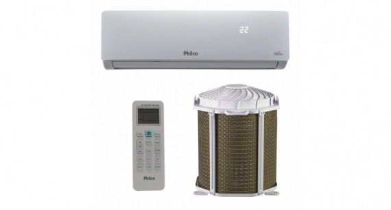 Ar Condicionado Split Inverter Philco Hi Wall 9000 BTUs Frio PAC9000ITFM9W - Kit