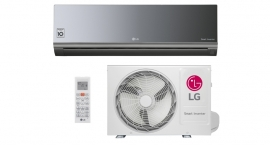 Ar Condicionado Split Hi Wall LG Smart Inverter ArtCool 22000 BTUs Quente Frio 220V - AS-W242CRG2